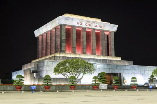 Hanoi & Ha Long Bucht: Ho Chi Minh-Mausoleum