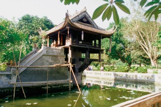 Hanoi & Ha Long Bucht: Einsäulenpagode