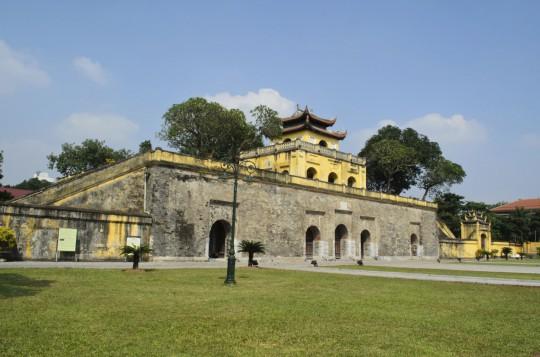 Hanoi: Zitadelle Thang Long und Flaggenturm