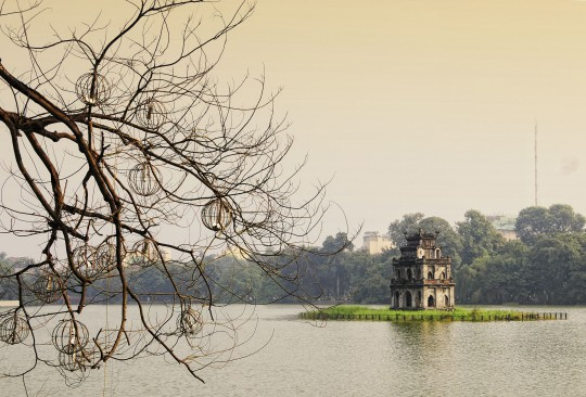 Hanoi: Hoan-Kiem-See und Schildkrötenturm