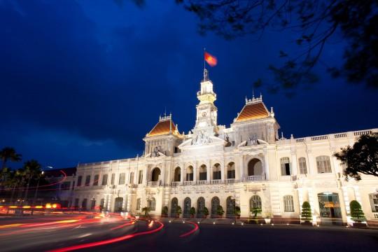 Saigon & Südküste: Rathaus