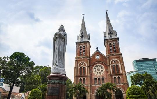 Saigon & Südküste: Notre Dame