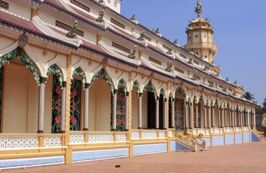 Saigon & Südküste: Cao Dai Tempel