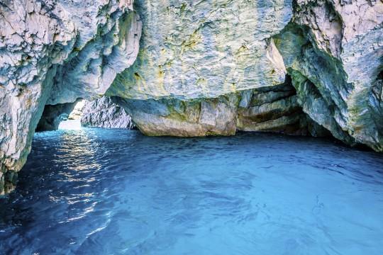 Ischia & Capri: Blaue Grotte, Capri