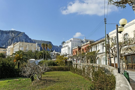 Ischia & Capri: Altstadt Anacapri, Capri