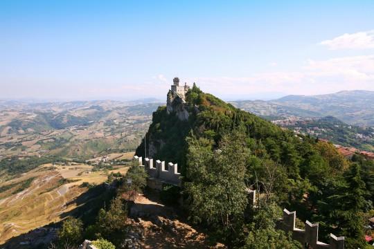 Mittlere Adria: Monte Titano