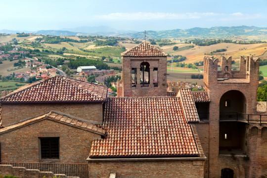 Mittlere Adria: Burg von Gradara