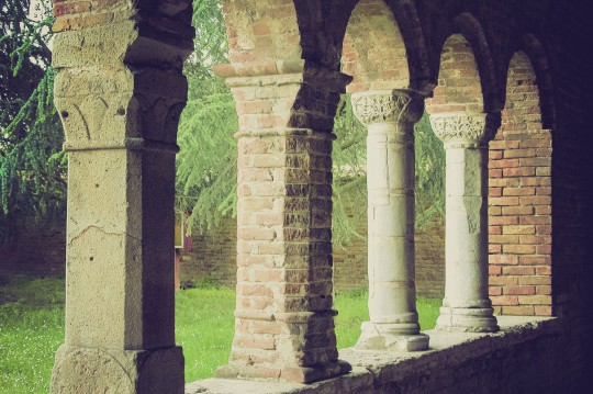 Mittlere Adria: Abtei Abbazia di Pomposa