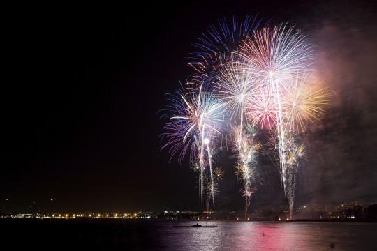 Costa Dorada: Feuerwerk Salou