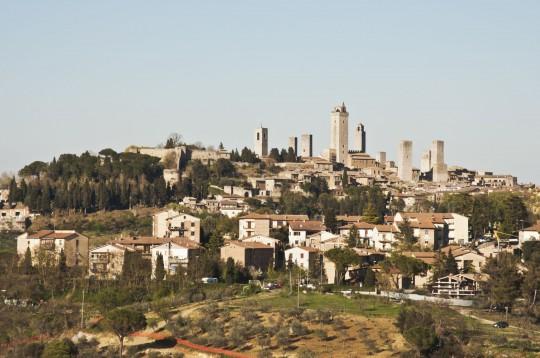 Toskana: Sam Gimignano