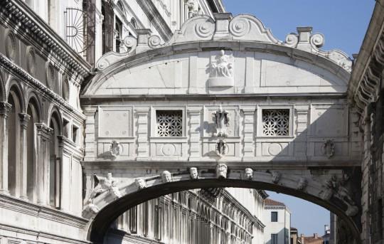 Venedig: Ponte die Sospiri (Seufzerbrücke)