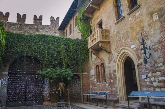 Verona: Casa di Giulietta – Das Haus der Julia