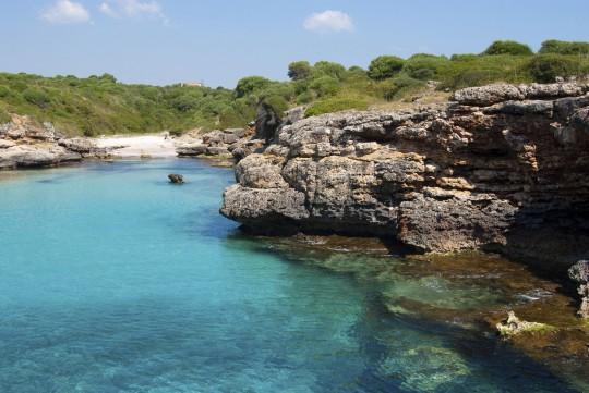 Mallorca: Bucht nahe Porto Cristo