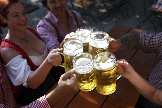 Bierkönig (Symbolbild)