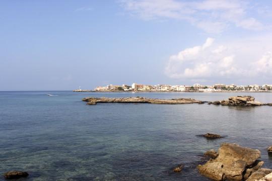 Mallorca: Stadtzentrum Colonia Sant Jordi