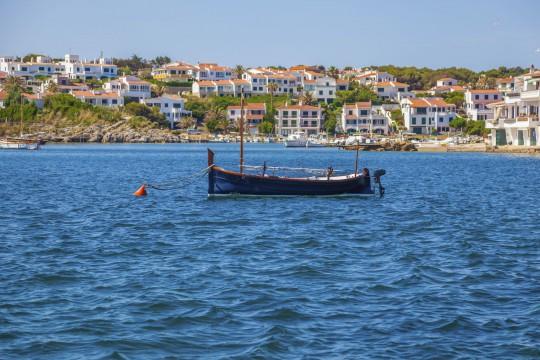 Menorca: Fischerboot