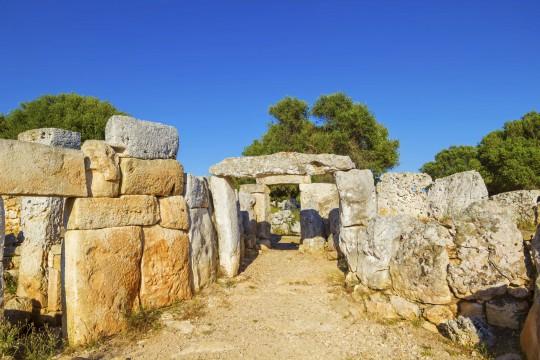 Menorca: Torre d'en Galmes