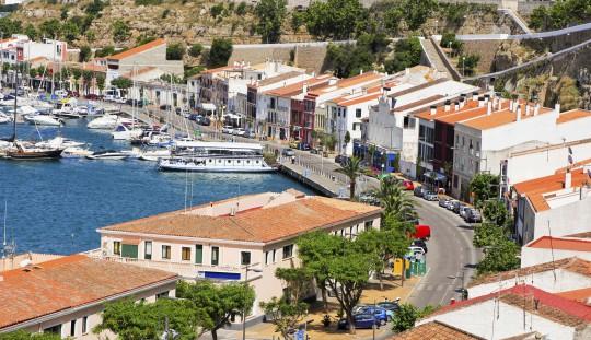 Menorca: Hafen von Mao