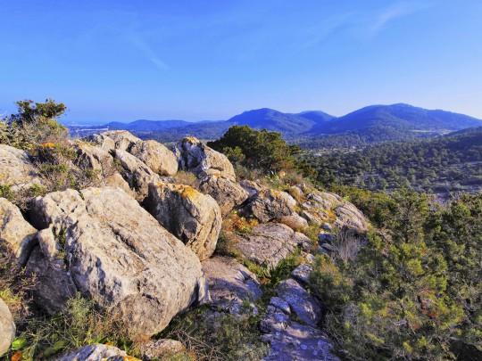 Ibiza: Berge