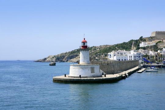 Ibiza: Hafen Ibiza Stadt
