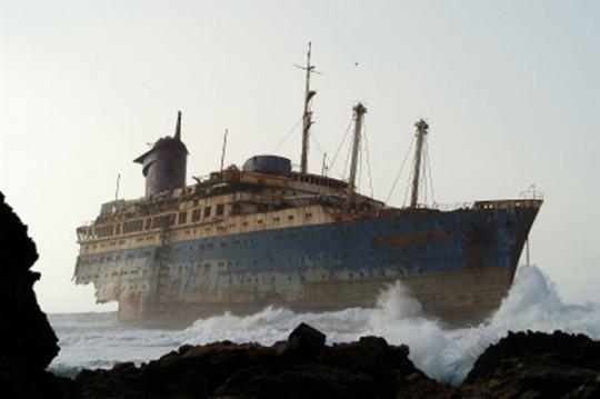 Fuerteventura: American Star Schiffswrack