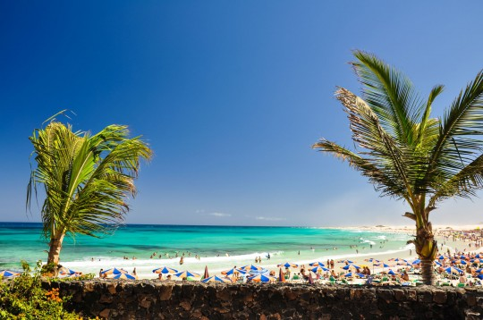 Fuerteventura: Strand von Corralejo