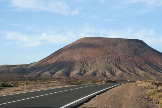 Fuerteventura: Berg von Tindaya