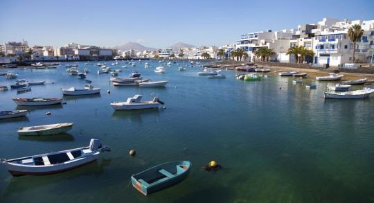 Lanzarote: Lagune Arrecife