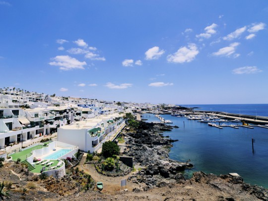 Lanzarote: Jachthafen Puerto Calero