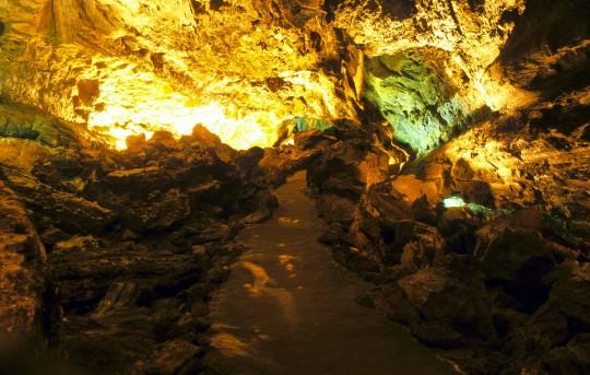 Lanzarote: La Cueva de los Verdes
