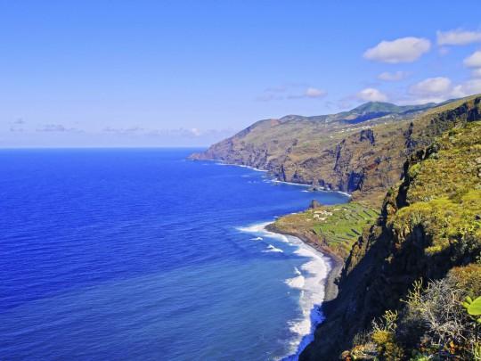 La Palma: Küstenlinie