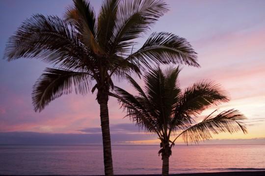 La Palma: Sonnenuntergang