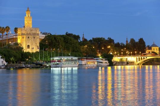 Sevilla: Sommernacht