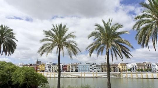Sevilla: Betis street