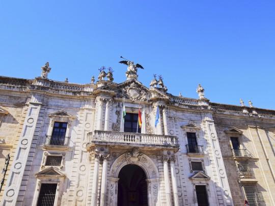 Sevilla: Universität / ehemalige Tabakfabrik