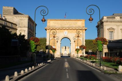 Triumphbogen Porte du Peyrou