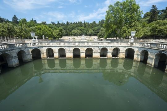 Languedoc-Roussillon: Jardin de la Fontaine