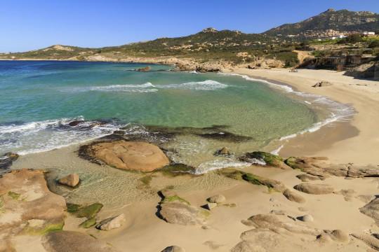 Korsika: Plage de Petra Muna
