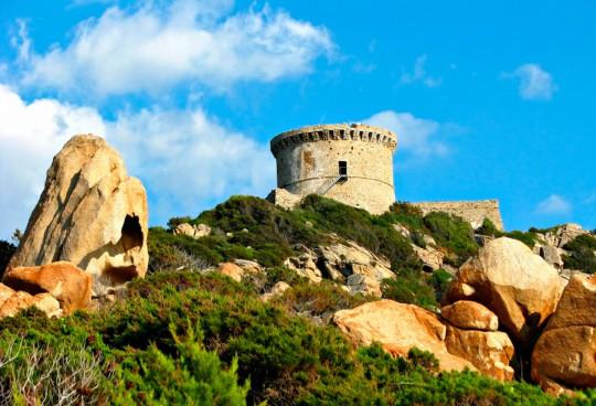 Korsika: Burg Genoese