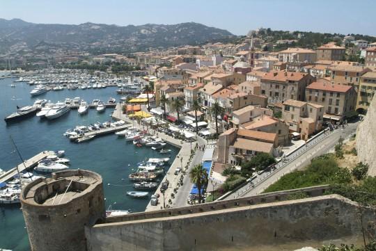 Korsika: Zitadelle von Calvi