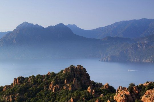 Korsika: Calanche