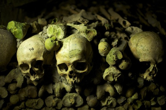 Paris: Catacombes de Paris