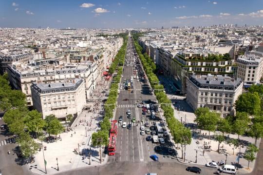 Paris: Champes-Èlysées