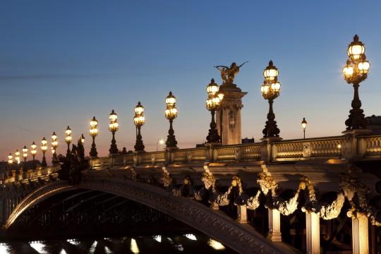 Paris: Pont Alexandre III.