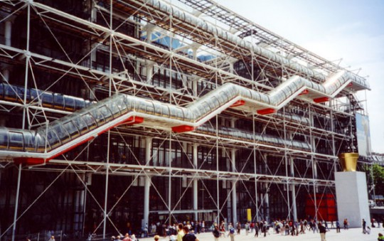 Paris: Centre Georges Pompidou