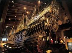 """Schweden: Das Kriegsschiff """"Vasa"""" im gleichnamigen Museum"""