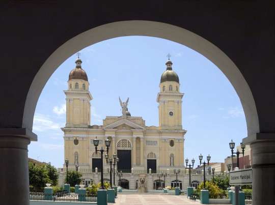 Kuba: Parque Cespedes