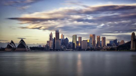 Sydney: Sonnenaufgang
