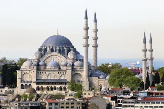 Istanbul: Süleymaniye Moschee