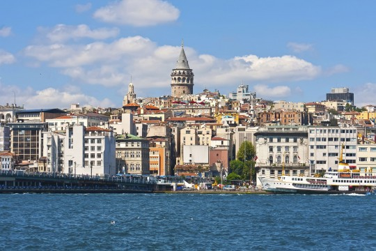 Istanbul: Galata District